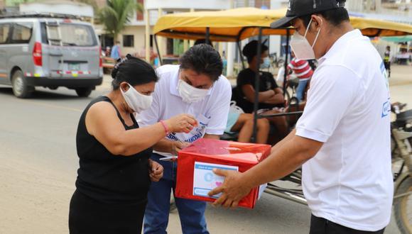 Piura: municipio de Máncora solicita a pobladores y turistas seguir donando para la compra de una planta de oxígeno (Foto: Municipalidad de Máncora)