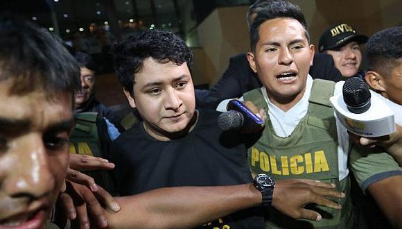 Ronny García: Así fue la captura del cantante en su casa del Rímac. (Anthony Niño de Guzmán)