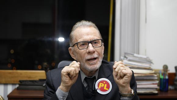 Ricardo Belmont descendió al cuarto lugar con 8% en intención de voto. (Foto: USI)