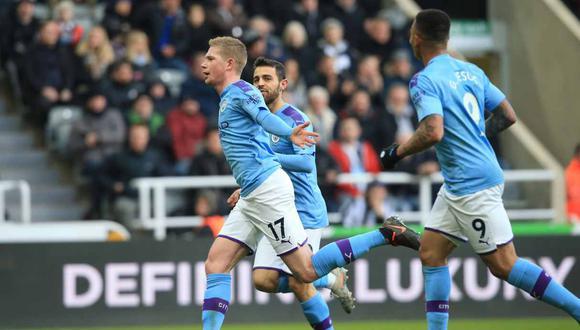 Manchester City vs. Burnley se enfrentan en la Premier League. (Foto: AFP)
