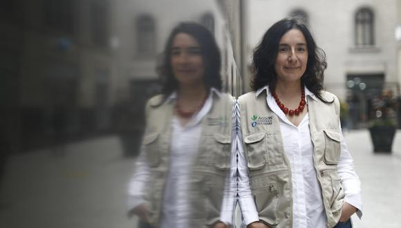 Conversamos con la bioquímica y bióloga molecular América Arias. (Perú21/ César Campos)