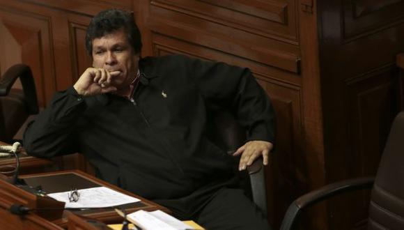 Heriberto Benítez podría perder la protección parlamentaria y enfrentar un juicio. (César Fajardo)