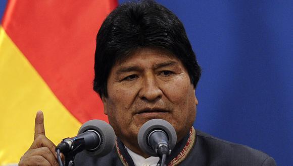 Evo Morales convoca al diálogo a partidos políticos de Bolivia en medio de protestas y motines. (Foto: AFP)