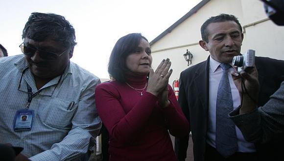 La fiscal Lozada explicará sus razones en audiencia pública en Chivay. (Heiner Aparicio)