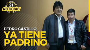 Pedro Castillo ya tiene padrino