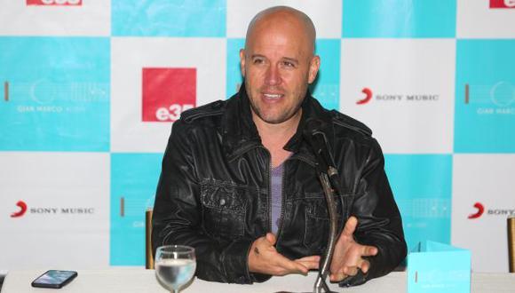 Gian Marco mostró su molestia tras no culminar concierto en Arequipa. (USI)