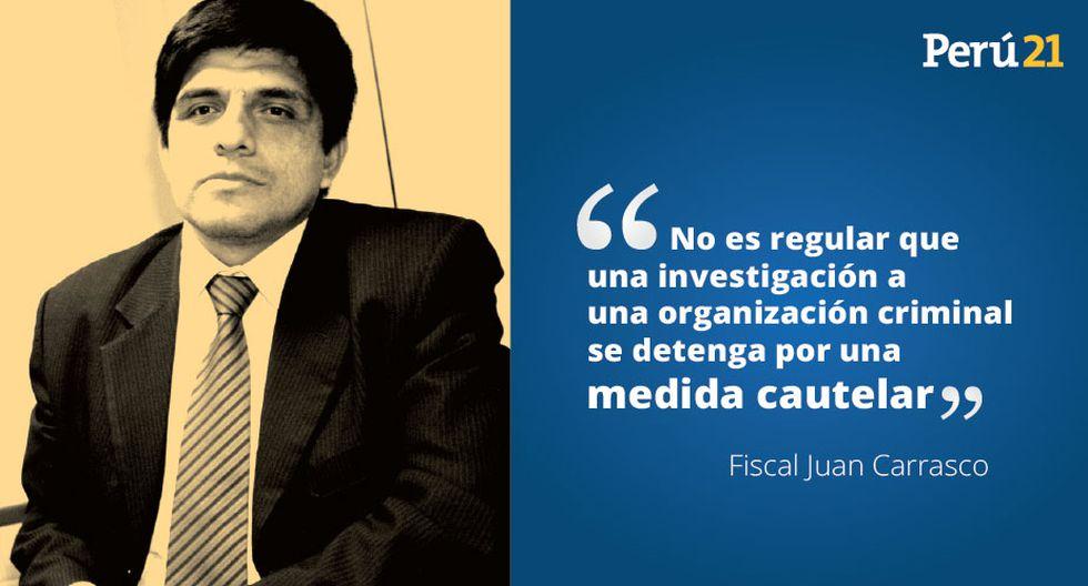 Las diez mejores frases de Juan Carrasco sobre el caso Edwin Oviedo. (Perú21)