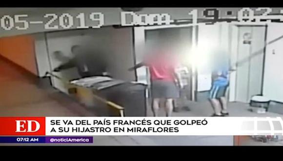 El Ministerio de la Mujer tomó medidas del caso ocurrido el pasado 5 de mayo. (Captura: América Noticias)