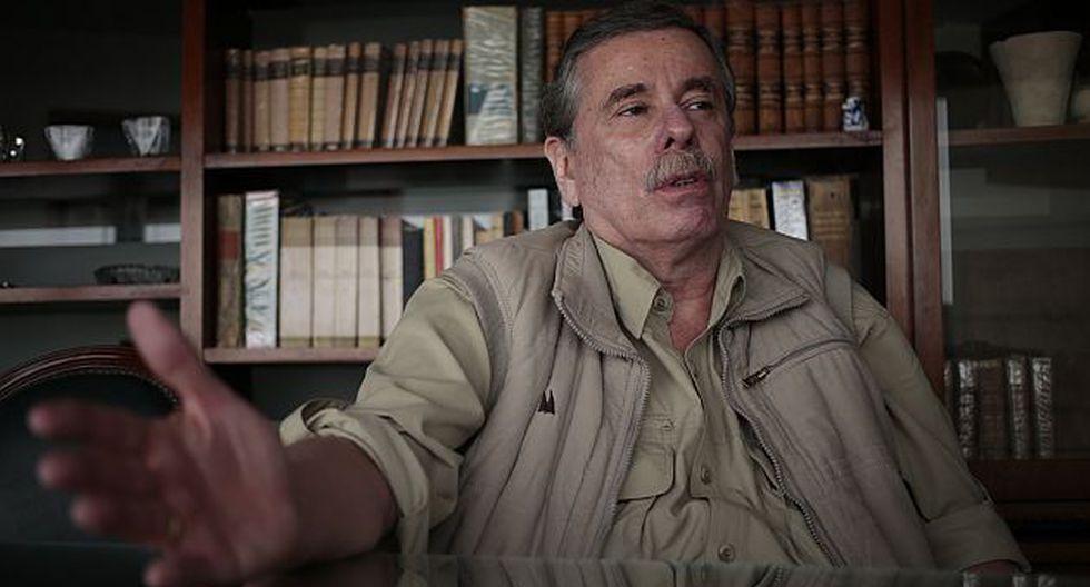 Para Fernando Rospigliosi, el diálogo era pura palabrería. (Rafael Cornejo)