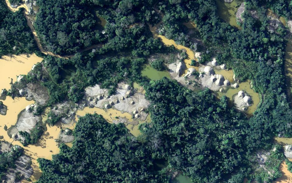 Los daños causados por la minería ilegal son elocuentes en la Amazonía.