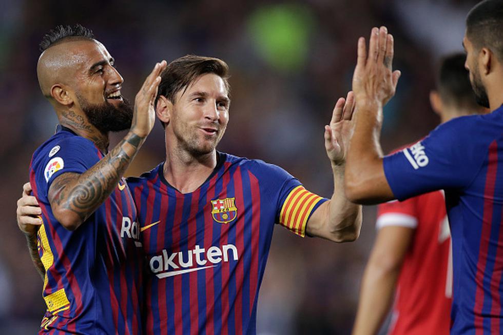 Barcelona empató 2-2 ante Gironaga por la fecha 5 de LaLiga. (Getty)