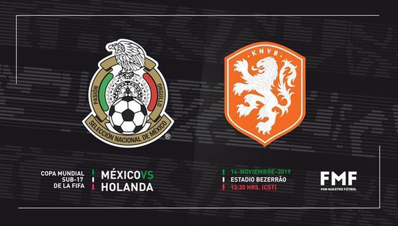 México va por el pase a la final de la Copa del Mundo ante el favorito Holanda. (Foto: Selección de Fútbol de México)