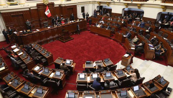 Salaverry detalló que faltan que 14 congresistas hagan uso de la palabra y que el ministro brinde sus descargos tras el debate. (Foto: GEC)
