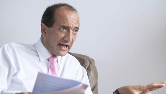 Juan Carlos Eguren criticó el pobre crecimiento económico de 2014. (USI)