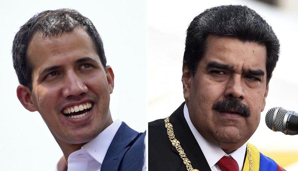 Trump reconoció como presidente legítimo a Juan Guaidó, pero este no ha logrado arrebatar el poder a Maduro. (AFP)