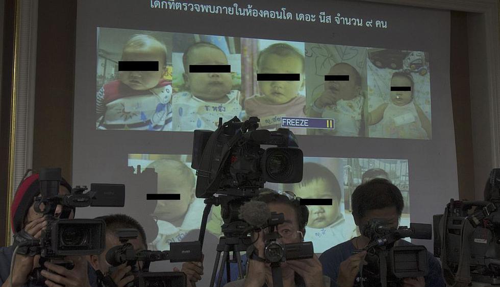 """Interpol investiga """"fábrica de bebés"""" en Tailandia. (AP)"""