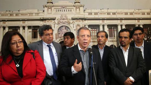 La bancada del Frente Amplio mostró su preocupación por la investigación del escándalo del sistema judicial. (Perú21)
