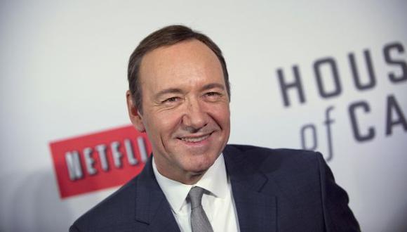 Kevin Spacey, protagonista de la serie, fue nominado como mejor actor. (Reuters)