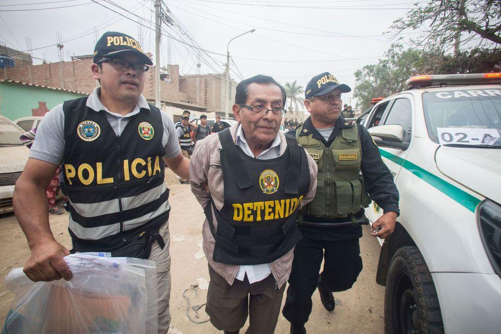 Noé Cornejo, hermano del alcalde de Chiclayo, es acusado de ser el lugarteniente de la mafia 'Los Temerarios del Crimen'. (Nadia Quinteros)