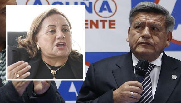 César Acuña le responde a su exesposa Rosa Núñez. (Perú21)