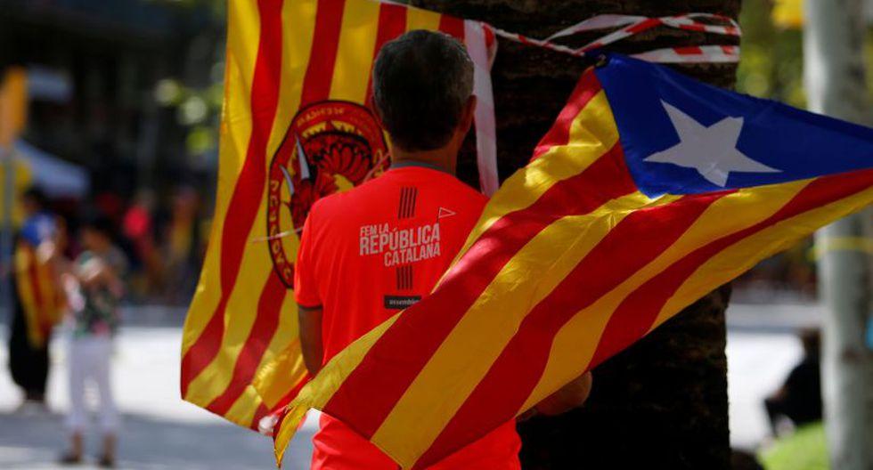 La manifestación fue criticada como sectaria por los no independentistas, y ni la alcaldesa de Barcelona, la izquierdista Ada Colau, ni los socialistas catalanes participarán este año. (Foto: Reuters)