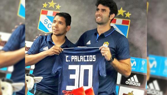 Cristian Palacios usará la camiseta 30 en Sporting Cristal. (Foto: Grace Nole / GEC)