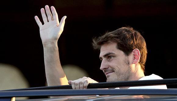 Iker Casillas se retira como futbolista profesional y ahora asumirá funciones directivas en el Porto. (Foto: EFE)