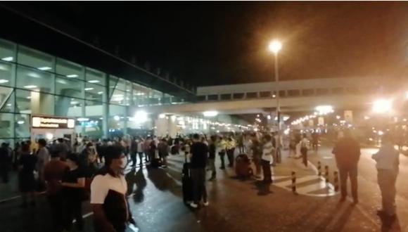 Así luce el aeropuerto Jorge Chávez antes del cierre total de las fronteras [VIDEO]