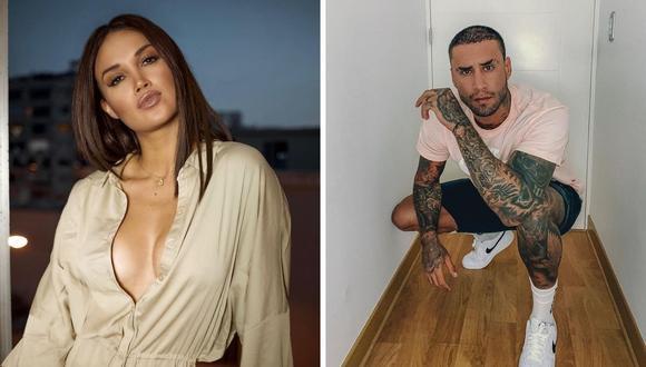 Jota Benz afirmó que al inicio de su relación con Angie Arizaga, ambos  desconfiaron mucho. (Foto: Instagram @angiearizaga / @jotabenz92).