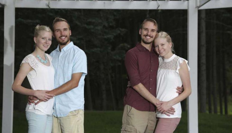 Dos parejas de gemelos idénticos se casarán en Estados Unidos. (Foto: AP)