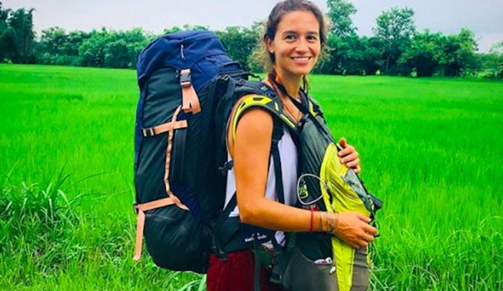 Peruana fue elegida para ser vacacionista profesional todo 2019. (Facebook Andrea Martens Briceño)