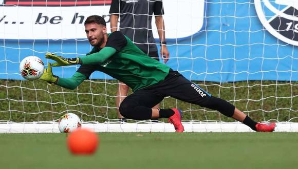 Marco Sportiello, primer jugador del Atalanta positivo por coronavirus. (Foto: @Atalanta_BC)