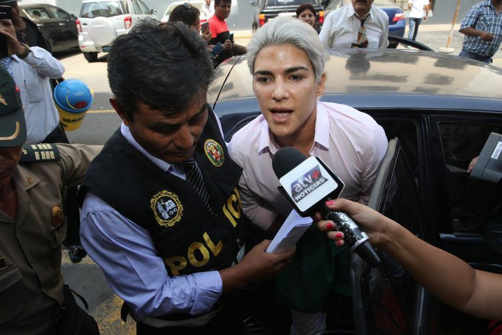 Zorro Zupe fue trasladado a la carceleta tras oir su sentencia (Twitter::@Poder_Judicial_)