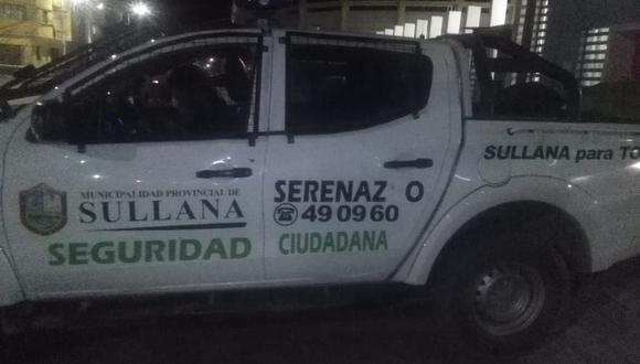 """Policía frustró asalto al hospital COVID-19 """"Campeones del 36"""" de Sullana (Municipalidad Sullana)."""