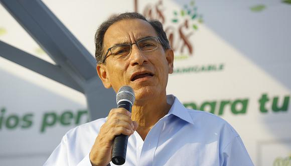 El presidente Martín Vizcarra dijo esperar que el Ministerio Público pueda actuar con independencia para obtener el testimonio de los ex directivos de Odebrecht. (Foto: Presidencia)