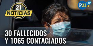 Coronavirus en Perú: Minsa confirma 30 fallecidos por COVID-19 y 1065 contagiados