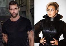 Ricky Martin y Demi Lovato usan sus redes sociales para pedir que Donald Trump salga de la Casa Blanca