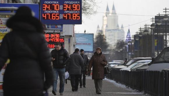 Ucrania: Crisis sacude los mercados. (AFP)