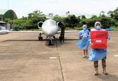 Fuerzas Armadas realizaron más de 30 vuelos para trasladar muestras e insumos médicos en diferentes regiones