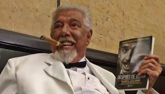 El actor mexicano nacido en Saltillo, Coahuila de Zaragoza el 15 de junio de 1934, falleció a los 82 años en Puerto Vallarta, Jalisco. (Foto: José Luis Salmeron/ Puerto Vallarta)