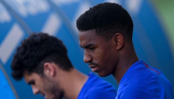 Junior Firpo se cayó de la convocatoria del Barcelona por una lesión. (Foto: AFP)