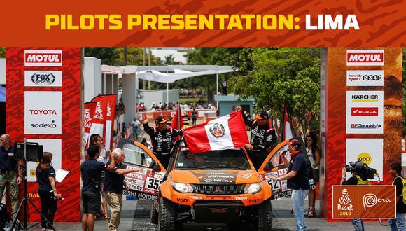 Este lunes empieza a correrse el rally Dakar 2019 en el Perú. (Fotos: Facebook Rally Dakar)