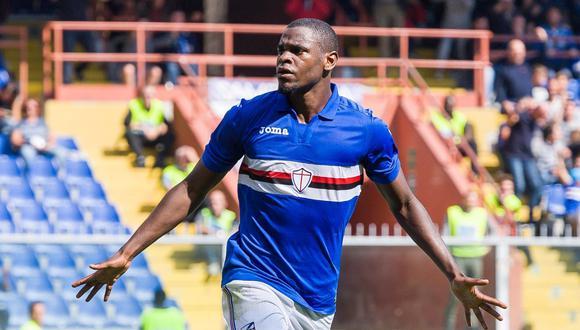 El colombiano Zapata anotó el primer gol de la Sampdoria sobre Milan, que sumó su segunda derrota en la temporada. (EFE)