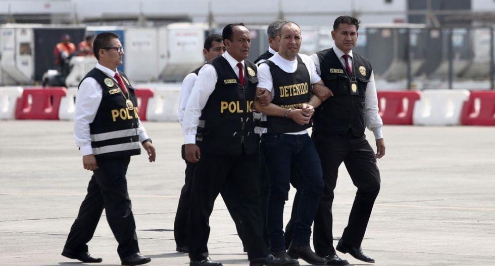El pasado 24 de diciembre Adolfo Bazán fue detenido en el terminal Manuel A. Odría de la ciudad de Tacna, y luego fue trasladado al penal de Huaral. (Foto: GEC)