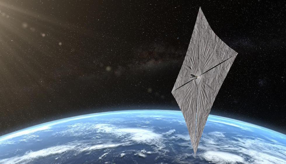 Nerdgasmo: Velas solares, la tecnología que podría llevarnos a otras estrellas. (AFP)