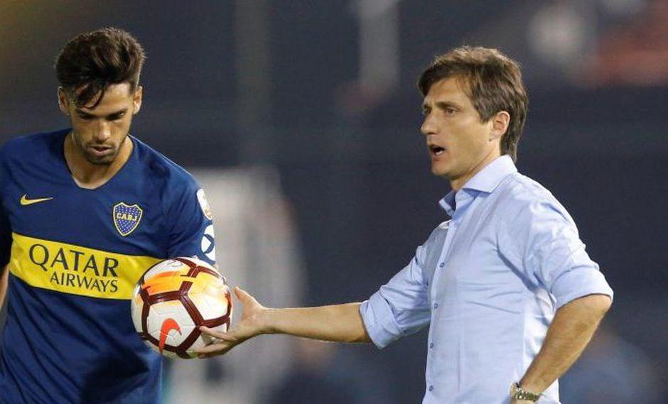 Guillermo Barros Schelotto, estratega de Boca Juniors, fue suspendido por la Conmebol de cara al trascendental choque por Copa Libertadores. Lo mismo que le ocurrió al millonario Marcelo Gallardo. (Foto: ESPN)