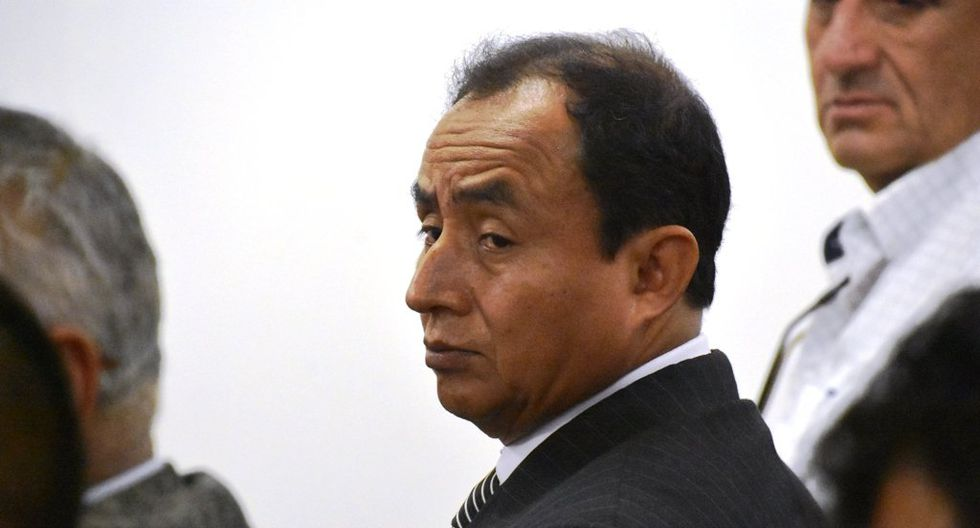 La fiscalía solicitó 24 años de prisión efectiva para Gregorio Santos. (Foto: Poder Judicial)