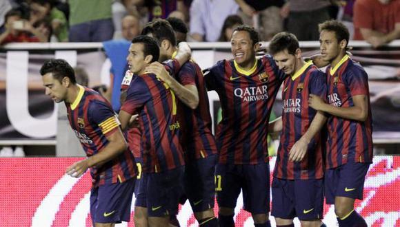 Barcelona ha logrado 15 puntos de 15 posibles. (EFE)