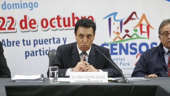 Renuncia de Aníbal Sánchez fue aceptada por Mercedes Aráoz. (Mario Zapata)