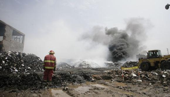 Las 42 mil laptops se quemaron en marzo de 2012. (Perú21)